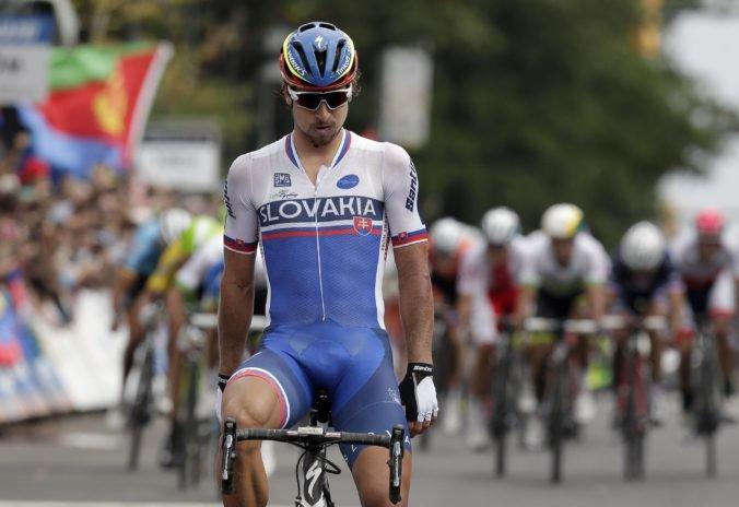 Počasie môže prekaziť útok Sagana na štvrtý titul majstra sveta, Belgičan odporúča zrušenie pretekov