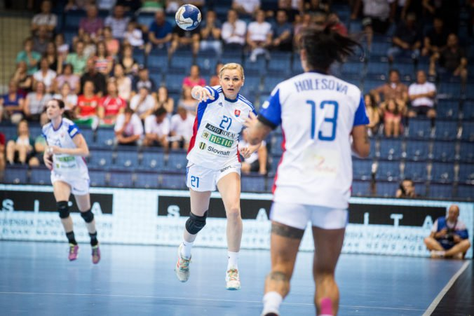Slovenské hádzanárky prehrali v Hlohovci zápas kvalifikácie na ME 2020 proti Srbsku
