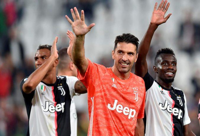 Video: Buffon prekonal historický rekord Maldiniho, dosiahol ho ako hráč popredného mužstva