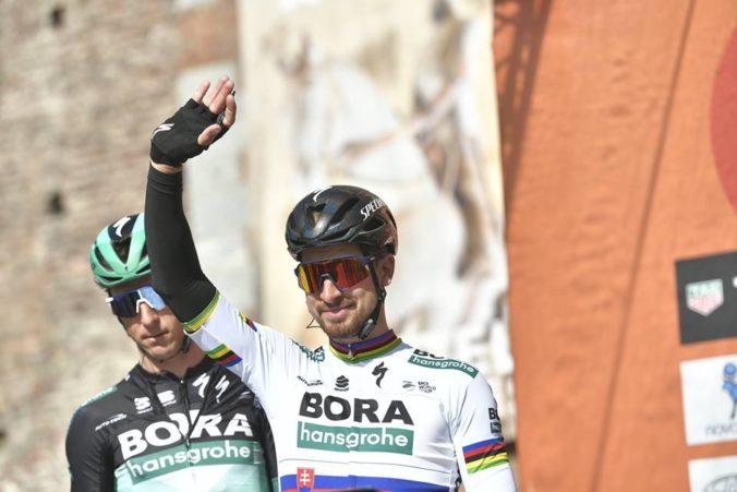 Sagan je v rebríčku UCI World v elitnej desiatke, majster sveta Pedersen poskočil o 311 priečok