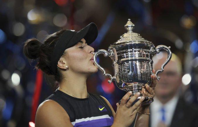 Kanaďanka Bianca Andreescová ťahá víťaznú sériu, od marca je bez prehry
