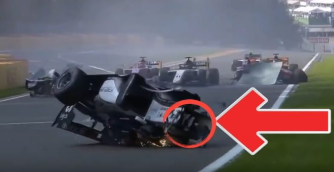 Video: Budúcnosť mladého pilota F2 Correu je po vážnej nehode na Veľkej cene Belgicka neistá
