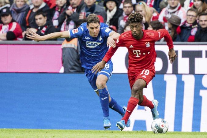 Bayern Mníchov v Bundeslige prekvapujúco zlyhal na vlastnom ihrisku, nestačil na Hoffenheim