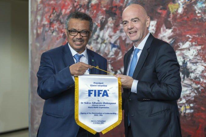 FIFA spája sily so Svetovou zdravotníckou organizáciou, futbal ma promovať zdravé stravovanie