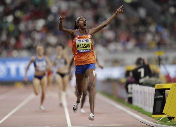 Hassanová utvorila v Dauhe európsky rekord a napísala históriu, guliari sa tiesnili v centimetri