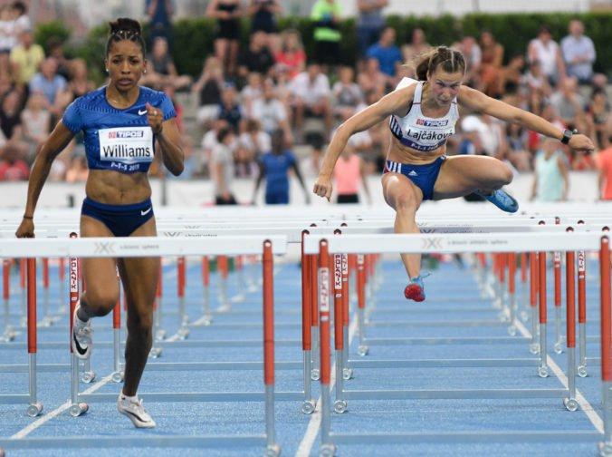 Škvarková skončila šiesta v rozbehu na 100 m prekážok, do semifinále MS nepostúpila