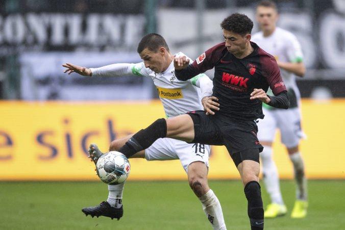 Mönchengladbach deklasoval v Bundeslige Augsburg, Bénes bol celý zápas pri tom