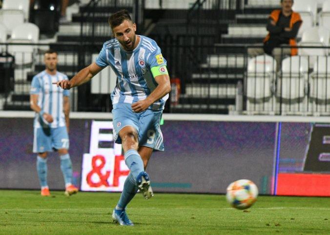 Šporar ratoval Slovan, Trenčín a ViOn uhrali vo Fortuna lige po rokoch vzájomnú remízu