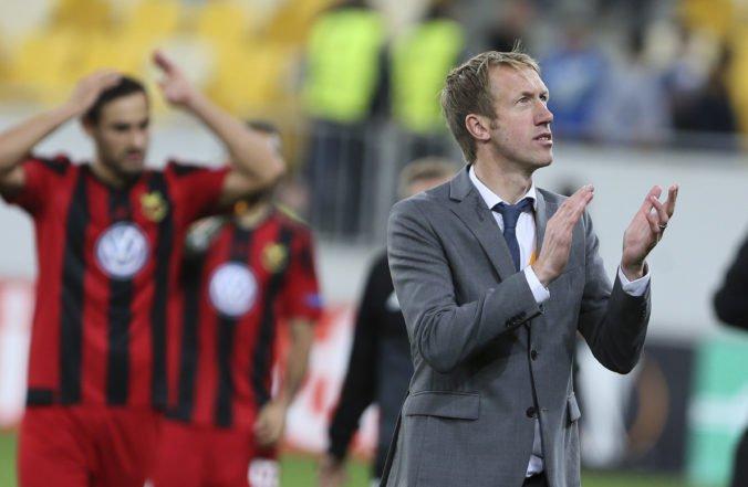 Kouč Graham Potter pomohol svojmu bývalému klubu, zadlženému Östersundu poslal peniaze