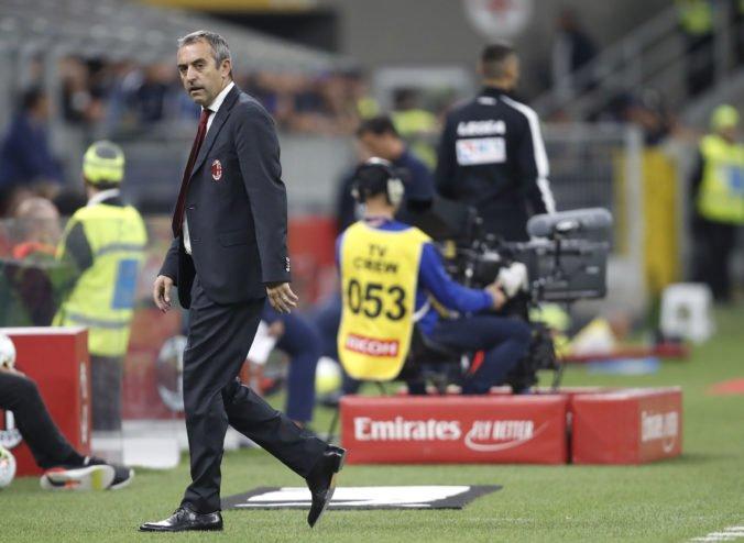 Marco Giampaolo končí na lavičke AC Miláno, vedenie klubu rozhodlo o jeho odvolaní