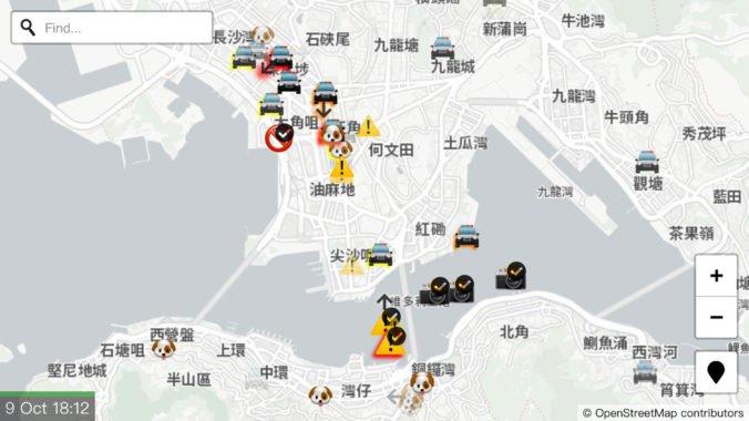 Apple po kritike odstránil aplikáciu, aktivistom v Hongkongu umožňovala nahlasovať pohyb polície