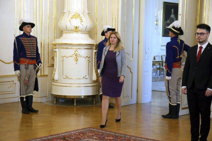 Prezidentka Zuzana Čaputová vymenuje zvyšných ústavných sudcov