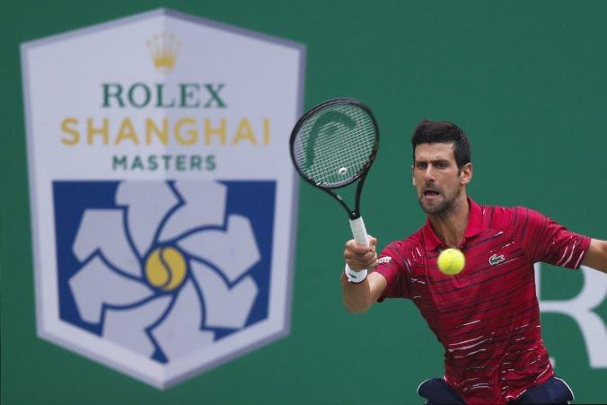 Djokovič neobháji titul v Šanghaji, Tsitsipas si víťazstvom zaistil Turnaj majstrov