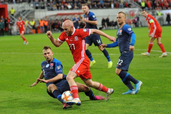 Škriniara mrzí remíza s Walesom, Slováci nepremenili niekoľko sľubných príležitostí