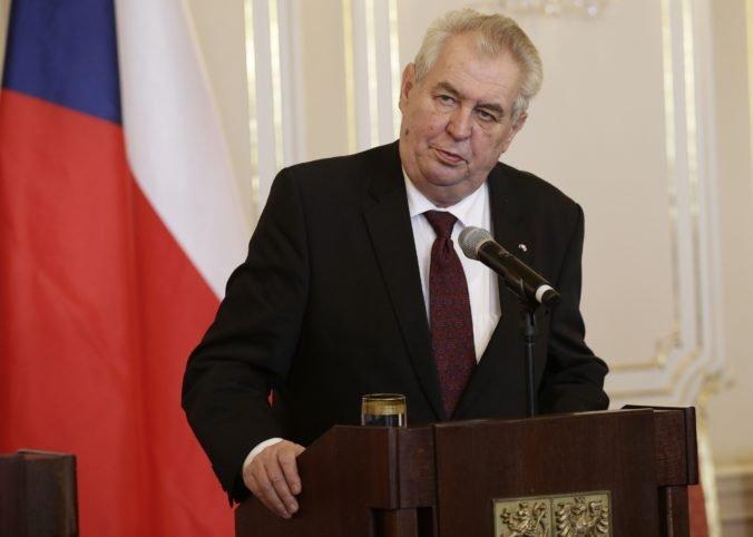 Prezident Zeman opustil nemocnicu, na prejav v Snemovni by mal byť absolútne fit