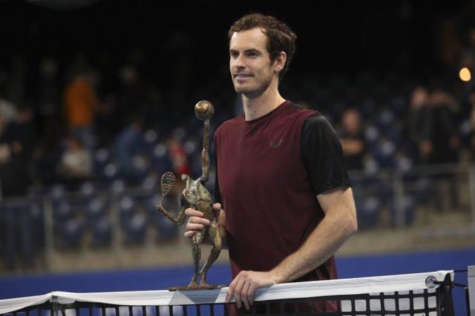 Video: Murray sa po 31 mesiacoch dočkal turnajového titulu, v rebríčku sa posunie o 116 miest