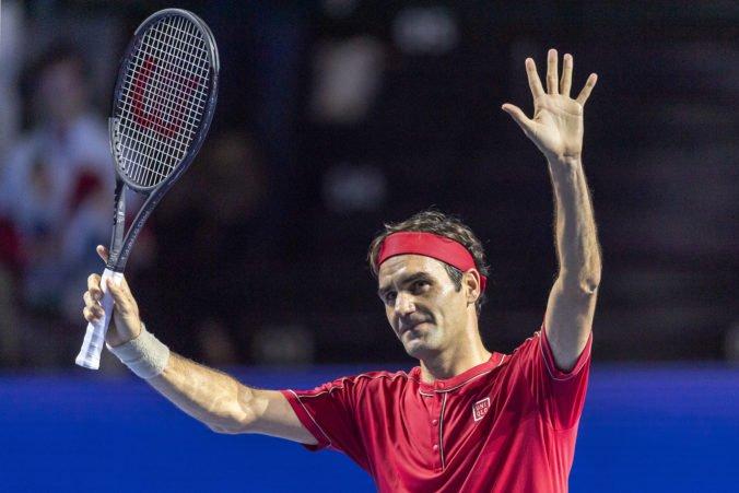 Federer zvládol jubilejný 1500. zápas na okruhu ATP, v rodnom meste predviedol kvalitný výkon