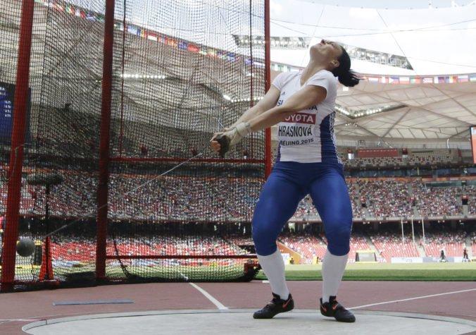 Kladivárka Martina Hrašnová získala striebro na armádnych svetových hrách v Číne