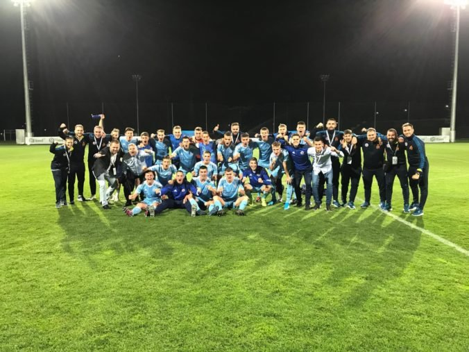 Futbalisti Slovana Bratislava zvládli predkolo mládežníckej Ligy majstrov, rozhodol až rozstrel
