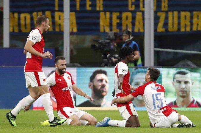 Slavia Praha vyzve Barcelonu, Ajax hrá proti Chelsea a Škrinarov Inter privíta Dortmund