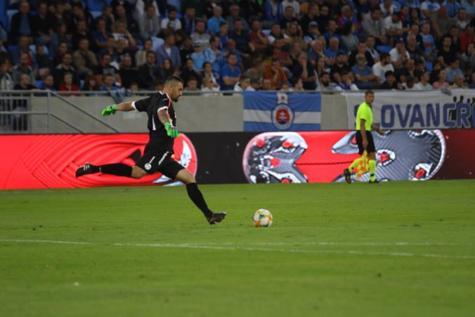Slovan podal dobrý výkon proti Wolverhamptonu, Greifa mrzel prvý inkasovaný gól