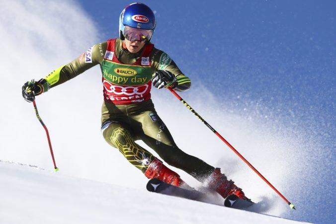 Shiffrinová je priebežnou líderkou v Söldene, Vlhová chce ísť do druhého kola naplno