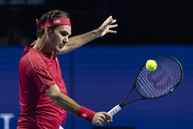 Federer si po triumfe v Bazileji dopraje voľno, odhlásil sa z turnaja Masters v Paríži