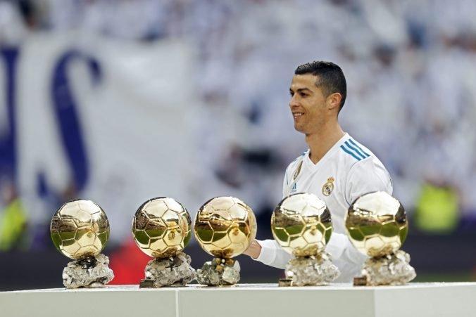 Cristiano Ronaldo rekordný šiestykrát získa Zlatú loptu, píšu Taliani