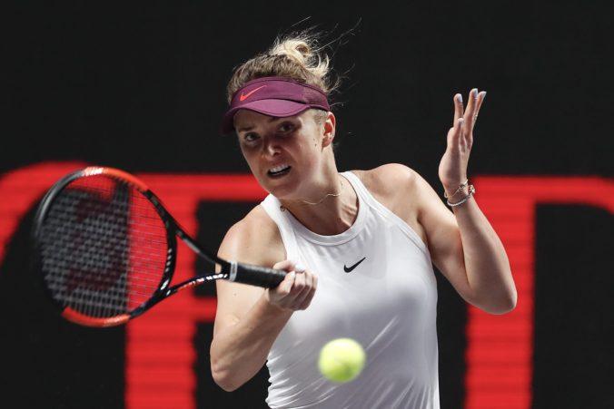 Video: Svitolinová na WTA Finals zdolala Halepovú, Andreescová vzdala Plíškovej