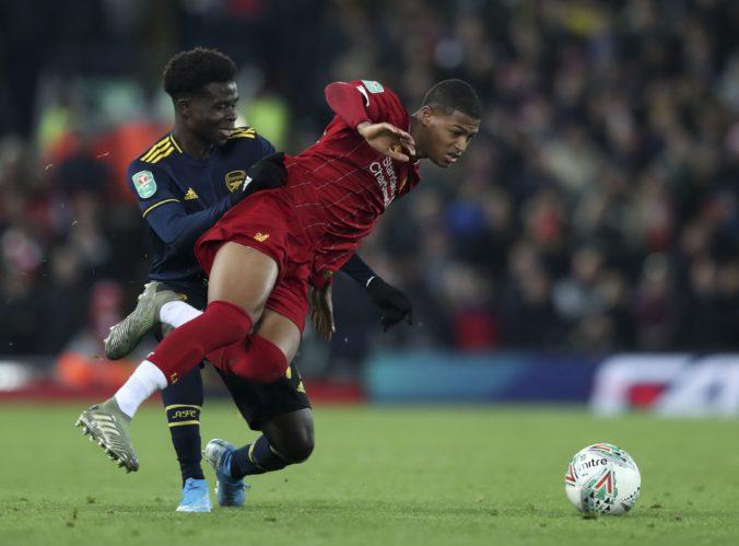 Arsenal a Liverpool predviedli šialenú prestrelku, po výsledku 5:5 rozhodli o víťazovi pokutové kopy