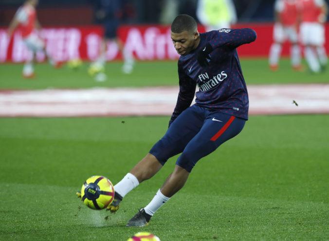 Kylian Mbappé skóroval na pôde Dijonu, Paríž St. Germain však nečakane zakopol