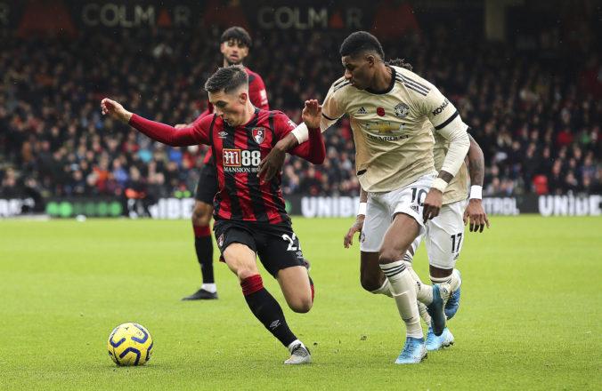 Manchester United v Premier League opäť zaváhal a prehral na ihrisku Bournemouthu