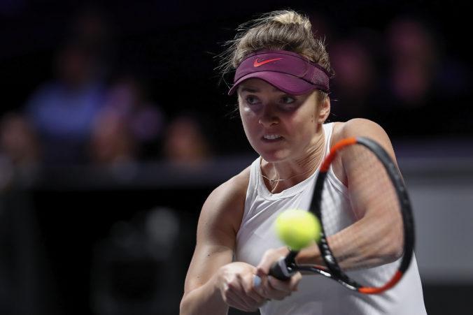 Svitolinová bude mať šancu na obhajobu prvenstva na WTA Finals, Bencicová skrečovala semifinále
