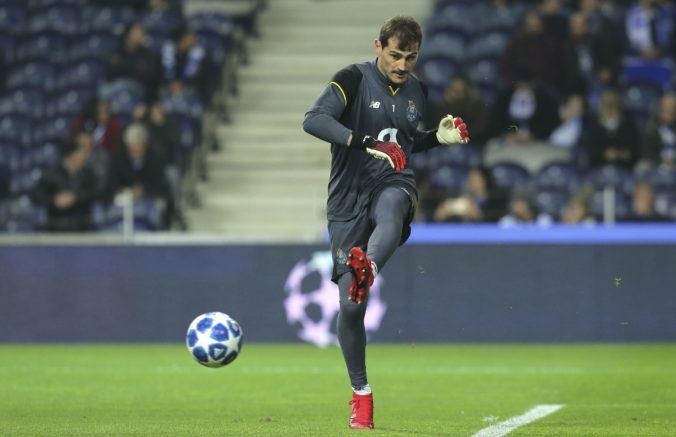 Brankár Casillas je späť v tréningovom procese, po infarkte bol na ihrisku sám a necelú polhodinku