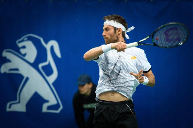 Norbert Gombos sa v Bratislave nedostal do štvrťfinále, Klein nestačil na jednotku turnaja