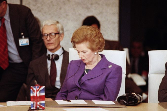 Margaret Thatcherová bola proti zjednoteniu Nemecka, bála sa jeho vplyvu aj v Československu