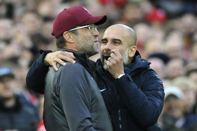 Premier League čaká zápas veľkých tímov, Klopp zdôrazňuje odvahu a Guardiola spolieha na brankára