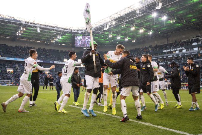 Slovák Bénes asistoval pri výhre Borussie, ale zápas 11. kola Bundesligy nedohral