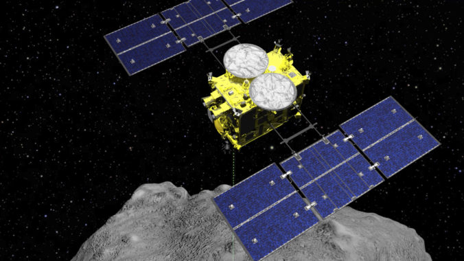 Japonská sonda Hajabusa 2 úspešne dokončila svoju misiu a začala ročnú cestu späť na Zem