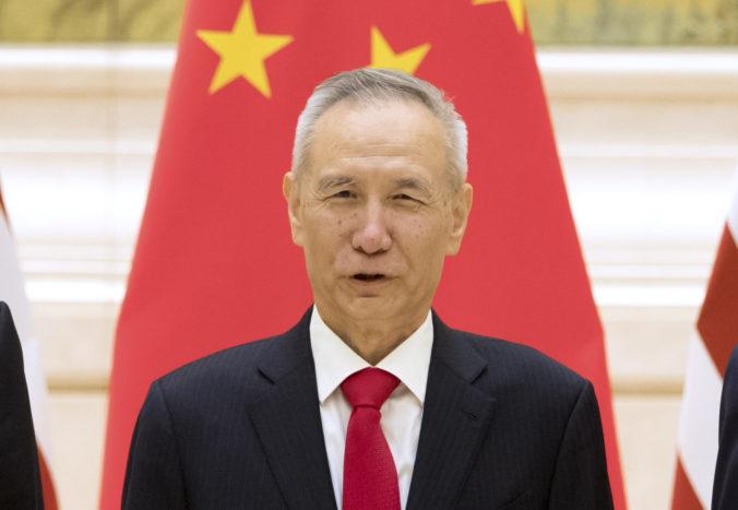 Čínsky vicepremiér hovoril o obchodnej dohode s ministrom financií USA, diskusia bola konštruktívna
