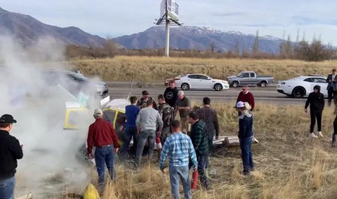 Video: Lietadlo po roku havarovalo na rovnakej diaľnici