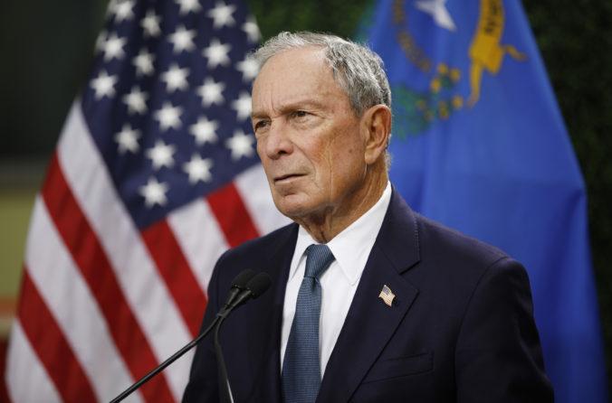 Miliardár Bloomberg vstupuje do boja o prezidentské kreslo, chce poraziť Trumpa a obnoviť Ameriku
