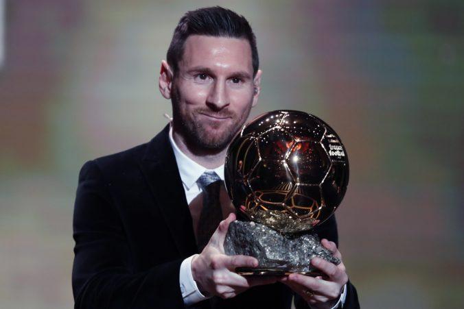 Messi je už lepší ako Ronaldo, získal rekordnú šiestu Zlatú loptu