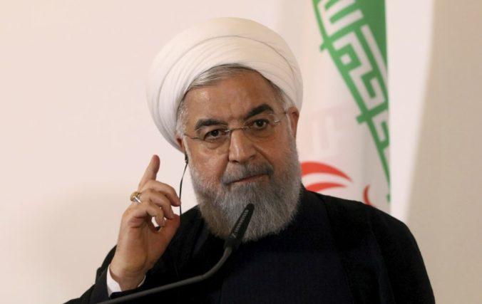 Rúhání je pripravený rokovať s USA, ak zrušia uvalené sankcie