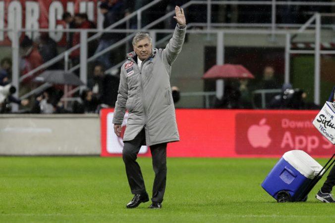 Tréner Ancelotti to má v Neapole nahnuté, o jeho osude rozhodnú najbližšie dva zápasy