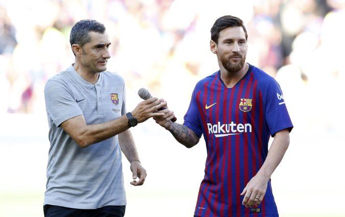 Valverde nechá hviezdy oddýchnuť, v zápase Ligy majstrov proti Interu nebude hrať ani Messi