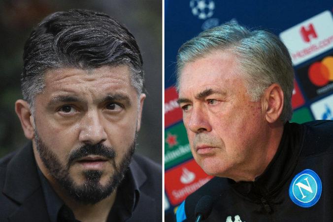 Neapolského trénera Ancelottiho nahradí Gattuso, nepomohla mu ani utorňajšia výhra
