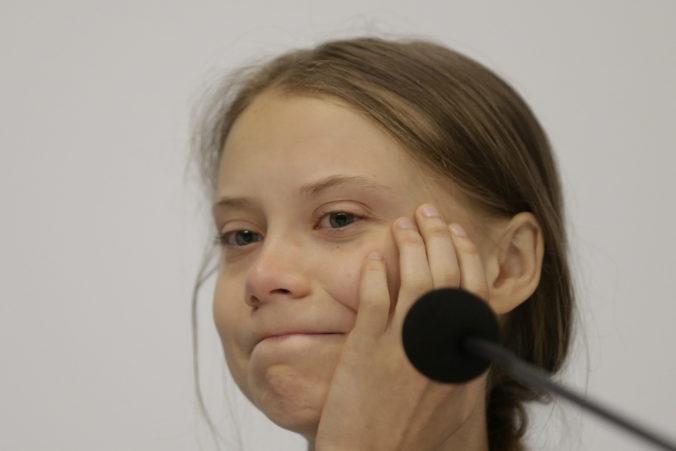 Aktivistku Gretu Thunberg kritizovala aj Melania Trump, porovnávala ju so svojím synom Barronom