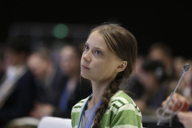 Greta Thunberg vysvetlila svoje slová o postavení politikov k múru, je proti násiliu