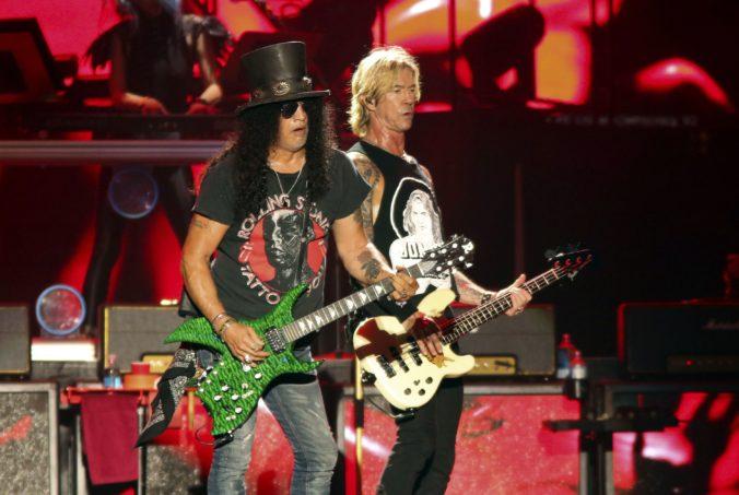Kapela Guns N' Roses ohlásila turné po Európe, vystúpi aj v Prahe a vo Viedni